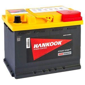 027 AGM Hankook Start Stop Car Battery 12V 60AH SA56020