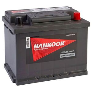 027 EFB Hankook Start Stop Car Battery 12V 60AH SE56020