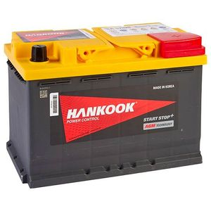 096 AGM Hankook Start Stop Car Battery 12V 70AH SA57020