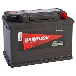 096 EFB Hankook Start Stop Car Battery 12V 70AH SE57020
