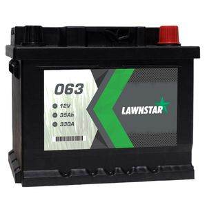 063 Lawnstar Lawnmower Battery 12V