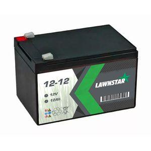 12-12 Lawnstar Sealed AGM VRLA Lawnmower Battery 12V 12Ah