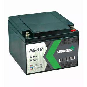 26-12 Lawnstar Sealed AGM VRLA Lawnmower Battery 12V 26Ah