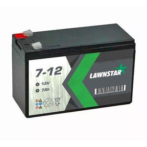 7-12 Lawnstar Sealed AGM VRLA Lawnmower Battery 12V 7Ah