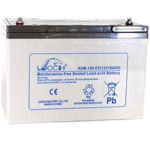 Leoch AGM-100-EV Mobility Battery 12V 100Ah