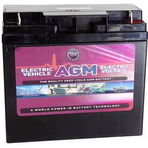Leoch AGM-22-EV Mobility Battery 12V 22Ah