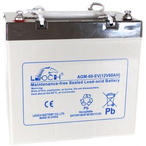Leoch AGM-60-EV Mobility Battery 12V 60Ah
