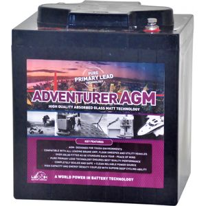 Leoch AGM-6245 Deep Cycle Monobloc Battery 6V TE35
