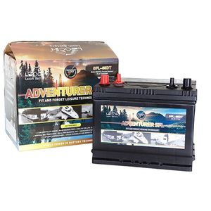 Leoch Adventurer SFL-85 DT Sealed Leisure Battery
