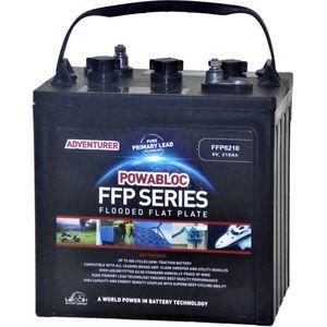 Leoch FFP-6210 Deep Cycle Monobloc Battery 6V
