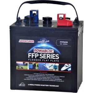 Leoch FFP-6220 Deep Cycle Monobloc Battery 6V