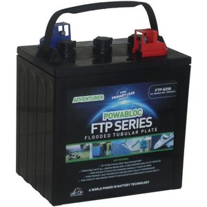 Leoch FTP-6250 Deep Cycle Monobloc Battery 6V