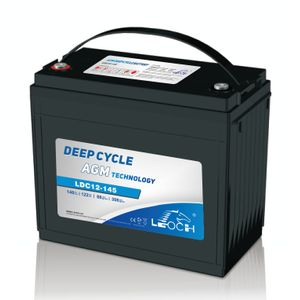 Leoch Superior Lead Carbon AGM 160Ah Battery LDC12-145
