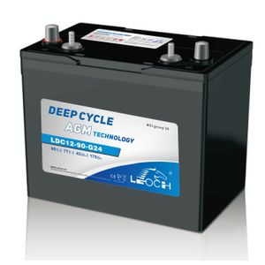 Leoch Superior Lead Carbon AGM 93Ah Battery LDC12-90-G24