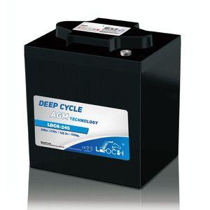 Leoch Superior Lead Carbon AGM 6V 270Ah Battery LDC6-245