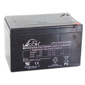 Leoch LP12-12 12V 12Ah Sealed Battery
