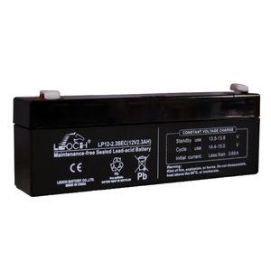 Leoch LP12-2.3 Sec 12V 2.3Ah Sealed Battery