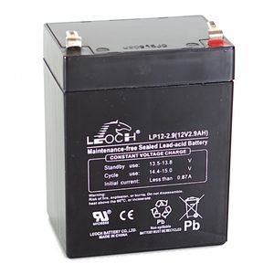 Leoch LP12-2.9 12V 2.9Ah Sealed Battery