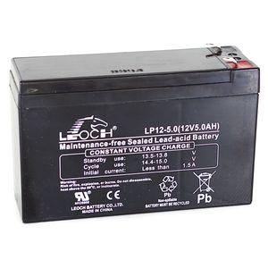Leoch LP12-5.0 12V 5Ah Sealed Battery