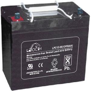 Leoch LPC12-55 Battery 12V 55Ah