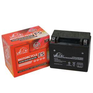 YTX12-BS Leoch Powerstart AGM Motorcycle Battery LT12-4