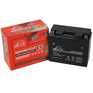 YT12B-4 Leoch Powerstart AGM Motorcycle Battery LT12B-4