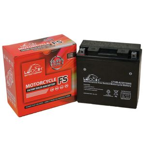 YT14B-4 Leoch Powerstart AGM Motorcycle Battery LT14B-4