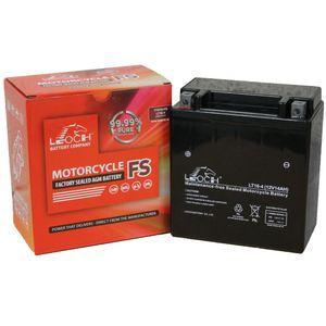 YTX16-BS Leoch Powerstart AGM Motorcycle Battery LT16-4