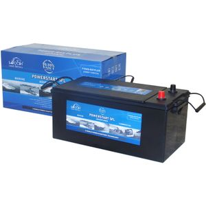 Leoch Powerstart SFL P25HS-625Plus Sealed Leisure Battery