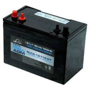 Leoch Superior Lead Carbon AGM 115Ah Battery (SLCA-12115 DT)