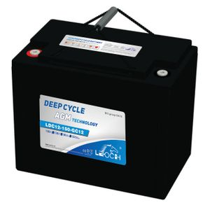 Leoch Superior Lead Carbon AGM 165Ah Battery (SLCA-12165)
