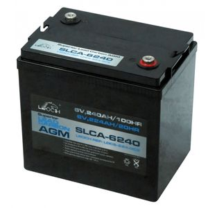 Leoch Superior Lead Carbon AGM 6V 246Ah Battery (SLCA-6240)