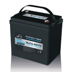 Leoch Superior Lead Carbon AGM 6V 270Ah Battery (SLCA-6270)