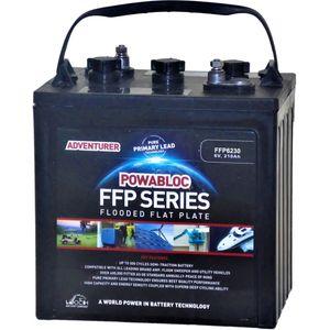 Leoch FFP-6230 Deep Cycle Monobloc Battery 6V