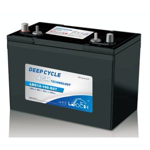 Leoch Superior Lead Carbon AGM 115Ah Battery (LDC12-105-G27-DT)