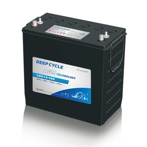 Leoch Superior Lead Carbon AGM 245Ah Battery (LDC12-220)