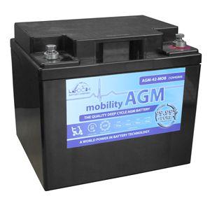 Leoch AGM 42 Mobility Battery 12V 42Ah
