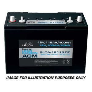 Leoch Superior Lead Carbon AGM 6V 231Ah Battery (SLCA-6225 DT)