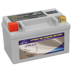 LFPS-X12 Leoch Powerstart Lithium Motorcycle Battery
