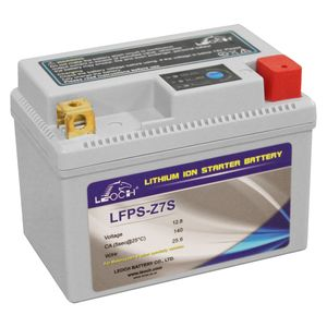 LFPS-Z7S Leoch Powerstart Lithium Motorcycle Battery