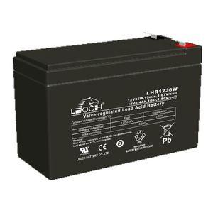 Leoch LHR1236W AGM Mobility Battery 12V 8.4Ah
