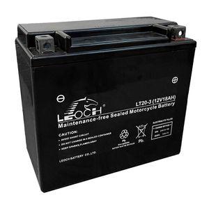 YTX20L-BS Leoch Powerstart AGM Batterie de Moto LT20-3