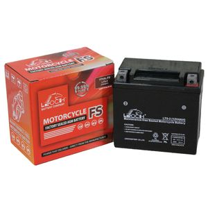 YTX5L-BS Leoch Powerstart AGM Motorcycle Battery LT5-3