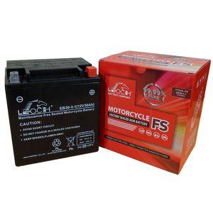YTX30L-BS Leoch Powerstart AGM Motorcycle Battery EB30-3