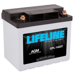 GPL-1400T Lifeline AGM Battery