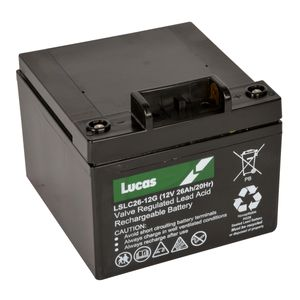 Lucas 18 Hole Golf Battery 26Ah (LSLC26-12G)