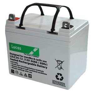 Lucas SLC 34-12 Mobility Battery 12V 34Ah