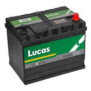 LE068 Lucas EFB Start Stop Car Battery 12V 68Ah