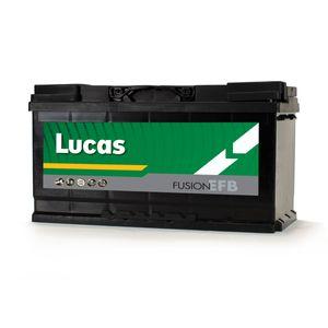 LE096 Lucas EFB Start Stop Car Battery 12V 70Ah