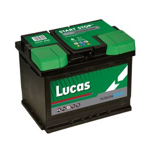 LF027 Lucas Fusion AGM Car Battery 12V 60Ah